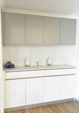 Custom Made Kitchen Cabinets, Extra Storage