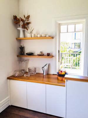 Custom Made Kitchen Storage