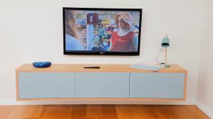 Entertainment Unit by CNC Cabinets