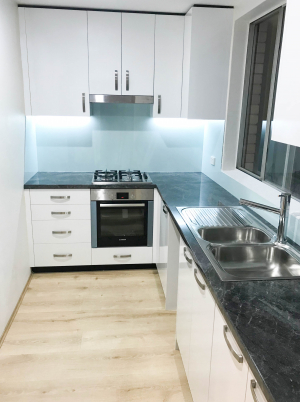 Made to Order Kitchen to fit Tight Space