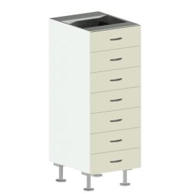 7 Drawer Base Cabinet