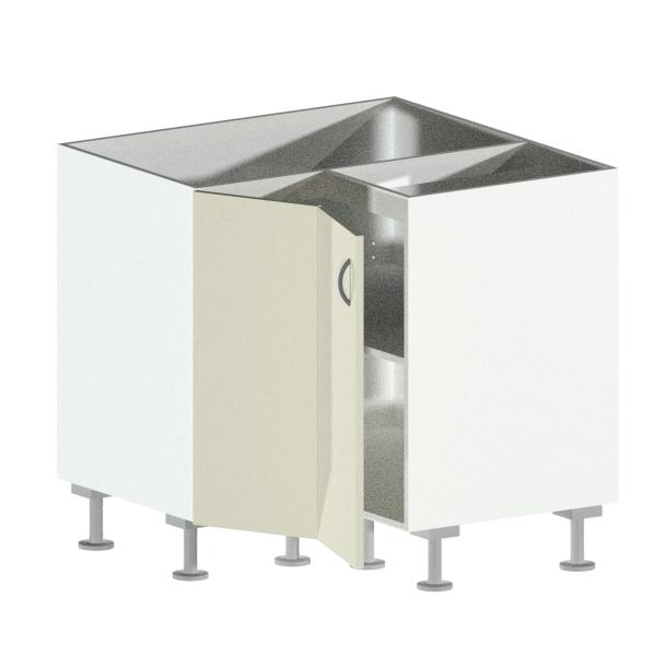 Corner Cabinet Open