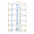 Tall Corner Cabinet AutoCad Drawing