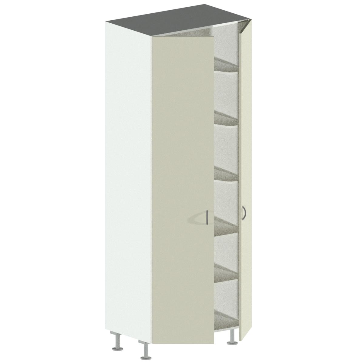 2 Door Pantry Cnc Cabinets