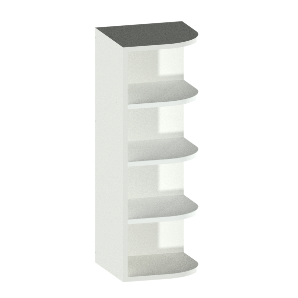 Open Right End Cabinet